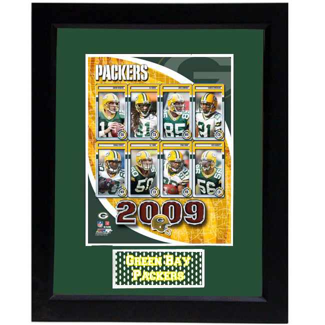 11x14 Frame - 2009 Green Bay Packers