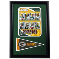 12x18 Pennant Frame - 2009 Green Bay Packers