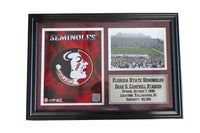 12x18 Photo Stat Frame - Florida State