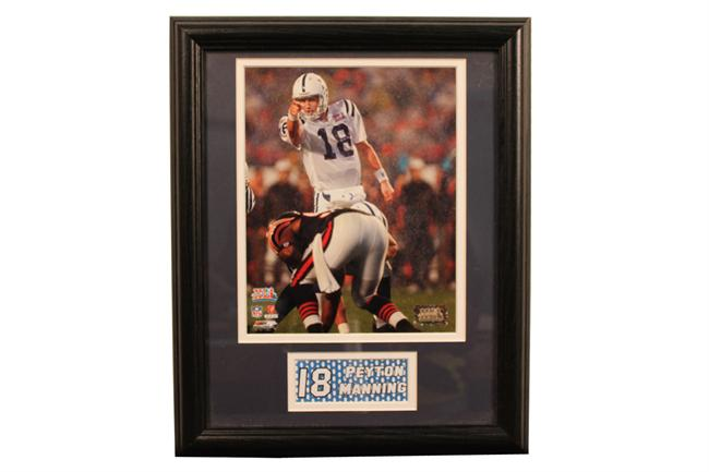 11x14 Deluxe Frame - Peyton Manning Indianapolis Colts