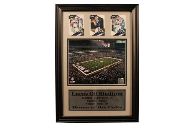 12x18 Three Card Frame - Indianapolis Colts