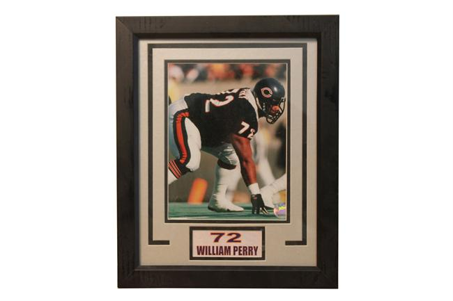 11x14 Deluxe Frame - William Perry Chicago Bears