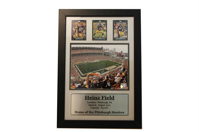 12x18 Three Card Frame - Pittsburgh Steelers