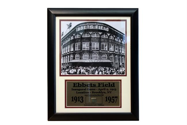 11x14 Game Used Frame - Ebbets Field