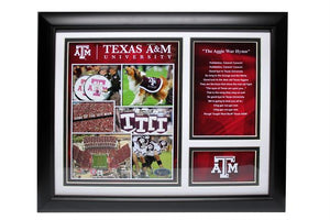 Texas A&M University 11x14 Deluxe Stat Frame
