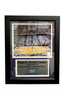 11X14 Game Used Frame - University of North Carolina Dean E. Smith Center