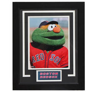 "11x14 Deluxe Frame - Boston Red Sox ""Wally the Green Monster"""