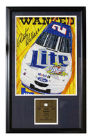 22x26 Car Part Frame - Rusty Wallace