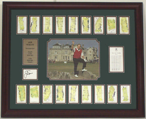"36x44 Autographed Frame - Jack Nicklaus ""Farewell to the BritIsh Open"""