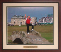 20x24 Custom Frame - Jack Nicklaus Bridge at St.Andrews