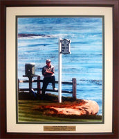 20x24 Custom Frame - Jack Nicklaus at Pebble Beach