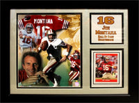 11x14 Card Frame - Joe Montana San Francisco 49ers