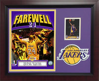 11x14 Card/Patch Frame - Kobe Bryant Los Angeles Lakers