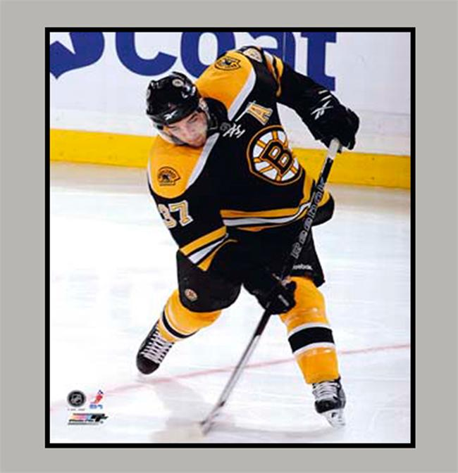 11x14 Mat - Patrice Bergeron Boston Bruins
