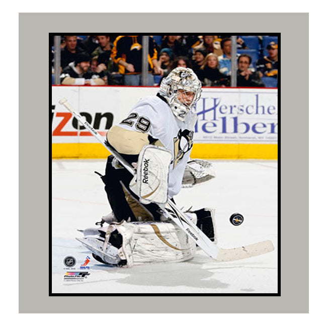 11x14 Mat - Marc Andre Fleury Pittsburgh Penguins