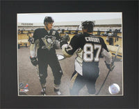 11x14 Mat - Evgeni Malkin and Sidney Crosby Pittsburgh Penguins