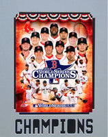 11x14 Champ Mat - Boston Red Sox 2013 World Series Champions