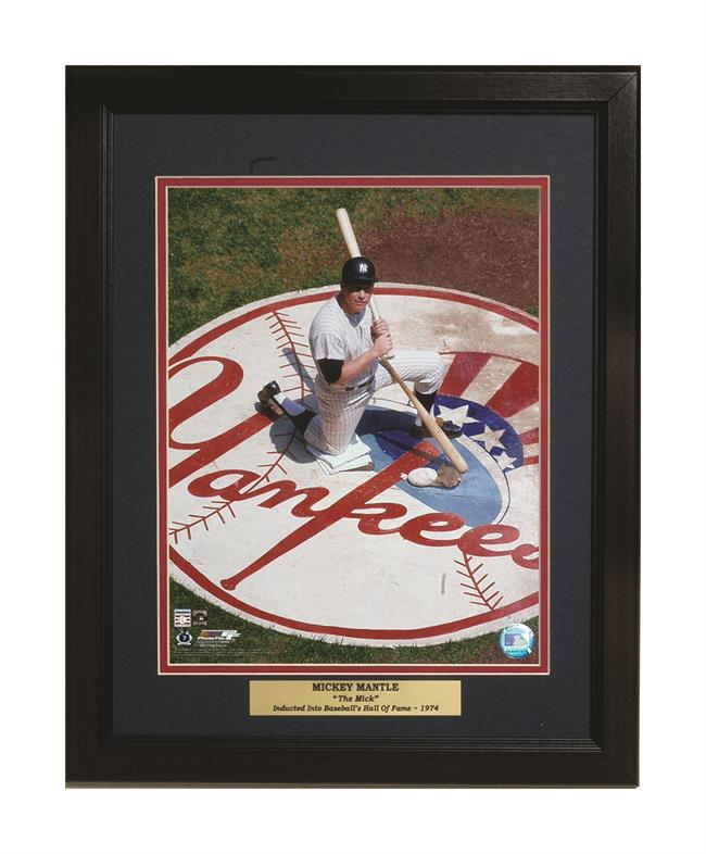 11x14 Deluxe Frame - Mickey Mantle New York Yankees