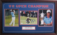 15x35 Three Photo Autographed Frame - Rory McIlroy