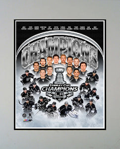 11x14 Champs Mat - Los Angeles Kings