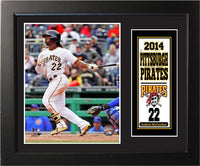 11x14 Deluxe Frame - Andrew McCutchen Pittsburgh Pirates