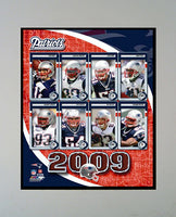 11x14 Mat - 2009 New England Patriots