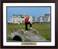 20x24 Custom Frame - Jack Nicklaus British Open