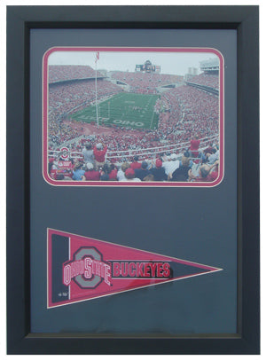 12x18 Pennant Frame - Ohio State