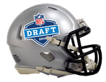 2016 NFL Draft Riddell Speed Mini Football Helmet