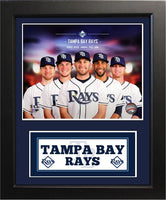 11x14 Deluxe Frame - 2014 Tampa Bay Rays