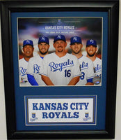 11x14 Deluxe Frame - 2014 Kansas City Royals