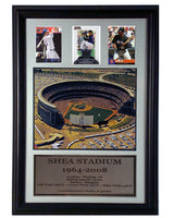 12x18 Three Card Frame - New York Mets