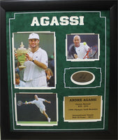 20x24 Suede Collage - Andre Agassi