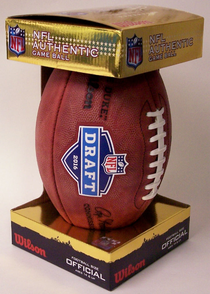 2016 NFL DRAFT - Wilson Official NFL Football - The Duke