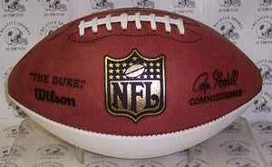 Wilson NFL 1 White Panel Autograph Model Football - FSPA