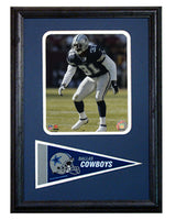 12x18 Pennant Frame - Roy Williams Dallas Cowboys