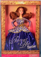 Barbie Doll Portrait In Blue Special Edition
