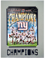 11x14 Champs Mat - New York Giants Champions