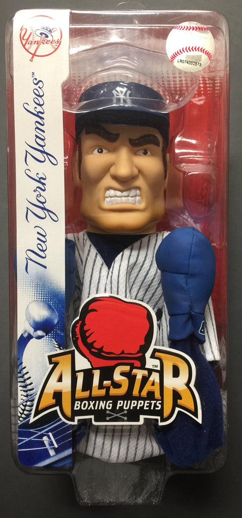 "Major League Baseball Edition All Star Boxing Puppets With a 8"" Reach Punch. New York Yankees. This is in original package in good condition"
