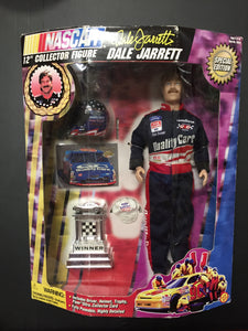 "Dale Jarrett 12"" Collector Action Figure Special Edition"