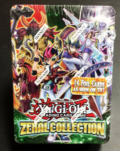 Konami Yu-Gi-Oh Zexal Collection Tin Trading Cards