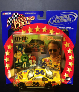 Nascar Ken Schrader 36 M&M's -Winners Circle Double Platinum