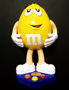 M&Ms Yellow Character - Collectible Chocolate Candy Dispenser