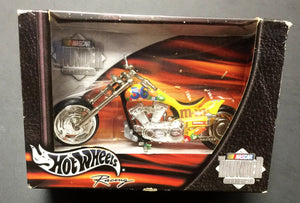 Hot Wheels Nascar Thunder Rides M&M 36 Ken Schrader Motorcycle