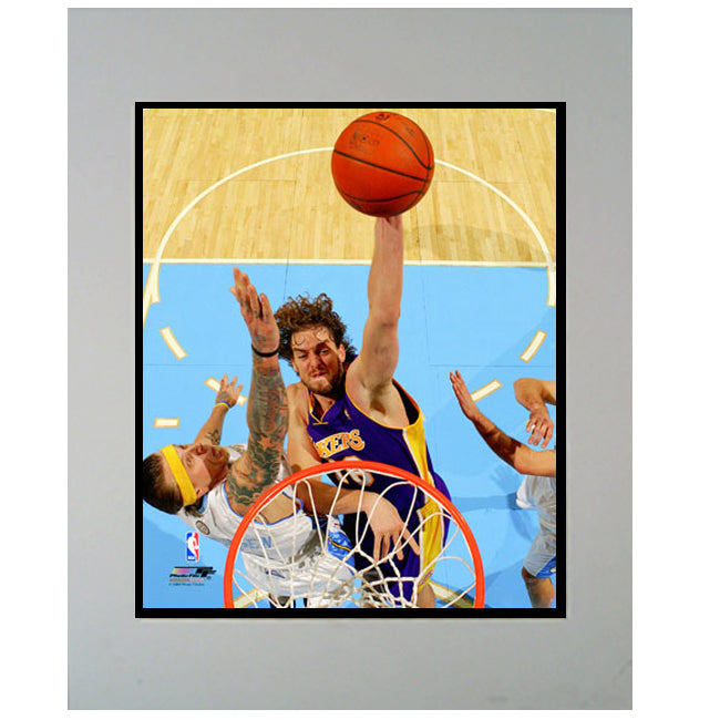 11x14 Mat - Pau Gasol Los Angeles Lakers