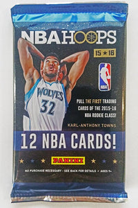 2015/16 Panini Hoops Basketball Card Packs