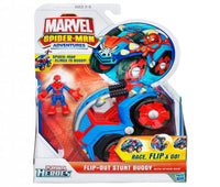 Marvel Spider-Man Adventures Flip-out Stunt Buggy