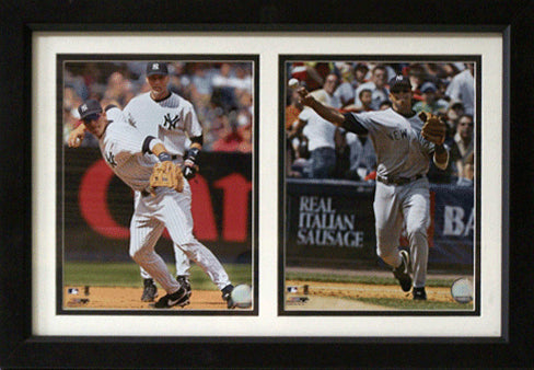 12x18 Double Frame - Alex Rodriguez New York Yankees