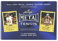 2016 Leaf Metal Tennis Box Set