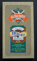 This is a 1993 Upper Deck All-Star Fan-Fest Heroes Of Baseball Preview Set. This is a complete set. It comes with Jackson, Mantle,& Williams 4 Card Set. In great condition, in original box.